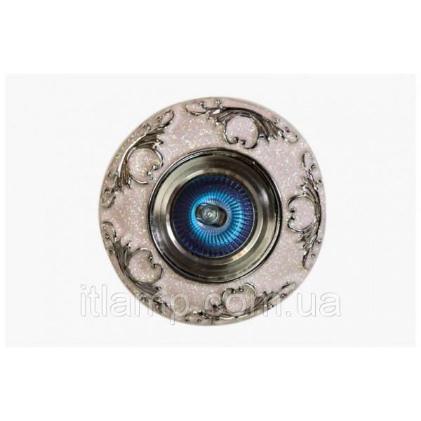Точечный светильник белого цвета LS 3171 CR